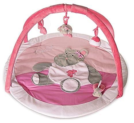 Baby Nat Tapis D Eveil Zoe L Hippo Rose Amazon Fr Bebes