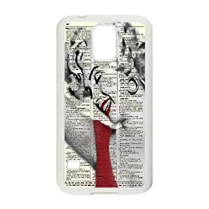 Wholesale Cheap Phone Case For Samsung Galaxy S5 -Sexy Red Lips Pattern-LingYan Store Case 6
