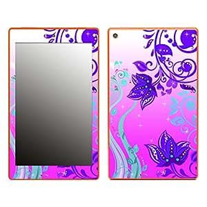 "Motivos Disagu Design Skin para Amazon Fire HD 8: ""Pink flowers"""