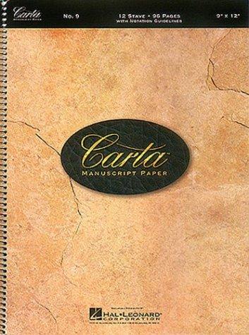 - Carta Manuscript Paper No. 9 - Basic