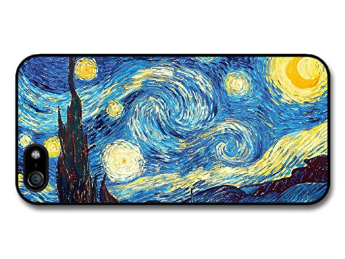Starry Night - Van Gogh Art iPhone 5 Case
