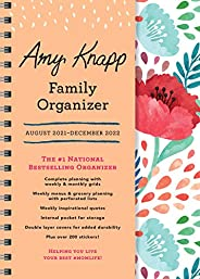 2022 Amy Knapp's Family Organizer: 17-Month Weekly Planner for Mom (Includes Stickers, Thru December 2022)