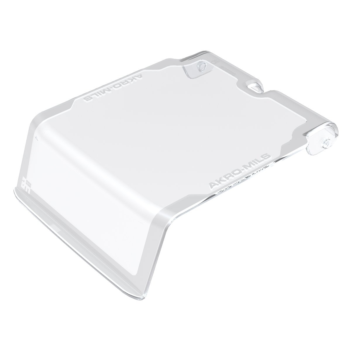 Akro-Mils 30211CRY Lid for 30210 AkroBin, Crystal Clear, 24-Pack