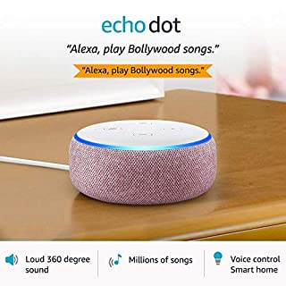 51SXWD9iP7L. SS320 Echo Dot (3rd Gen) – Smart speaker with Alexa (Purple)