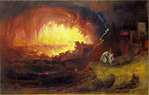 「ジョンウォールアートプリント_ Martin - The Destruction of Sodom andゴモラby天体イメージ 32