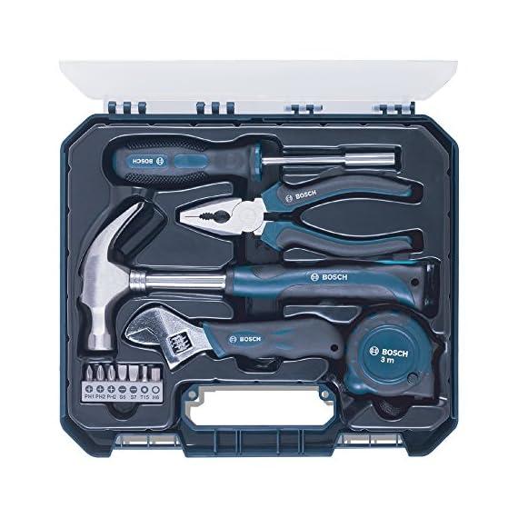 Bosch Hand Tool Kit (Blue, 12 Pieces) 1