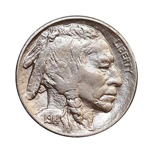 1914 P Buffalo Nickel - Gem BU/MS/UNC - High Grade Coin/Superb