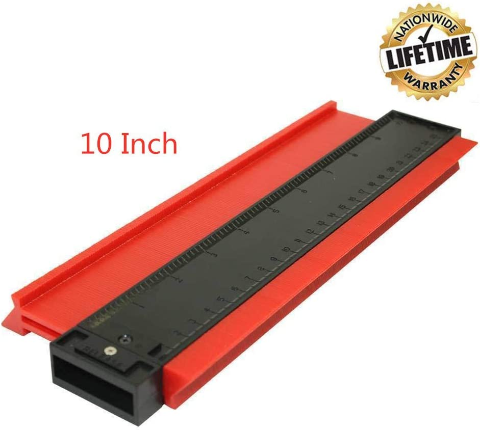 Profile Contour Gauge Duplicator 10 Inch Measuring Tool for Copy Irregular Shape