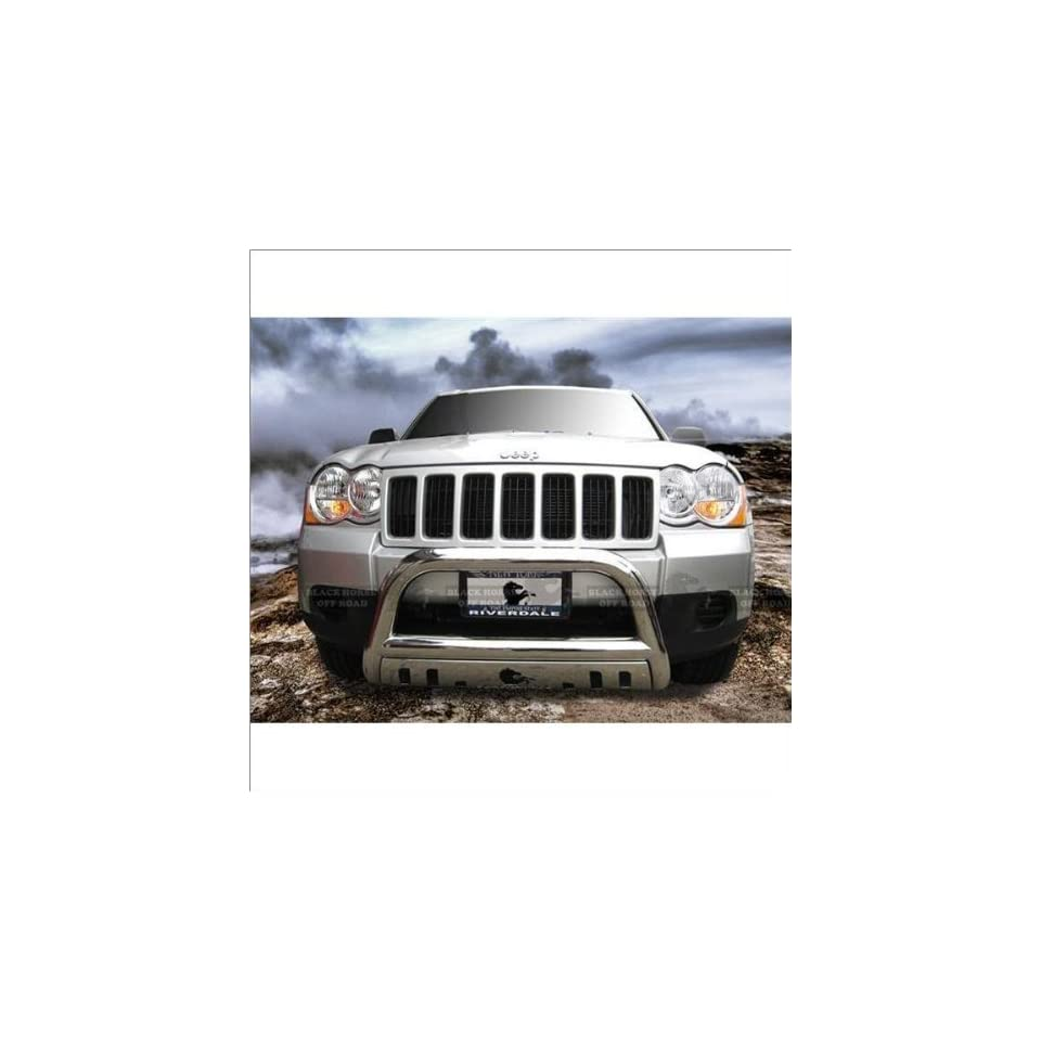 Black Horse Stainless Steel Bull Bar 08 12 Jeep Grand Cherokee
