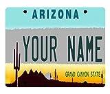 cardinals refrigerator magnet - BRGiftShop Personalized Custom Name Arizona License Plate State Refrigerator Fridge Magnet