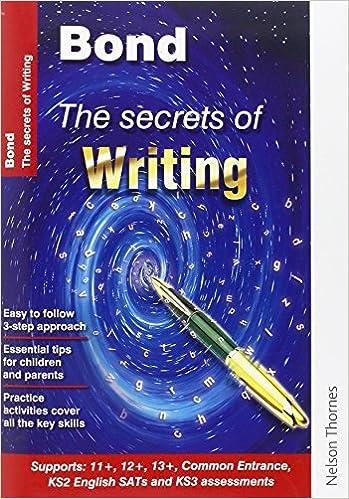 Amazon.com: Bond The Secrets of Writing (9789814578325 ...