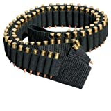 Ultimate Arms Gear Tactical Stealth Black 180 Round Rifle Ammo Shot Shell Cartridge Hunting Shoulder Bandolier Bandoleer Carrier Holder 60