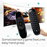 Susay® C120 6-axis 2.4GHz Mini Portable Wireless Remote Control Keyboard 3D Somatic Handle for PC Set-top-boxes Android TV Boxes