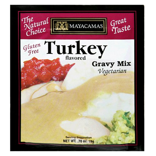 Mayacamas Turkey Gravy Mix, Vegetarian 0.70-Ounce Units (Pack of 12) by Mayacamas