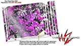 WraptorSkinz PS4 Pro Skin Butterfly Graffiti - Decal Style Skin Wrap fits Sony PlayStation 4 Pro Console