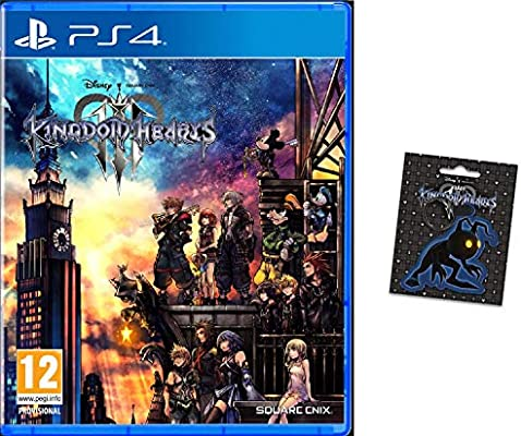 Kingdom Hearts 3 + Llavero (PlayStation 4): Amazon.es ...