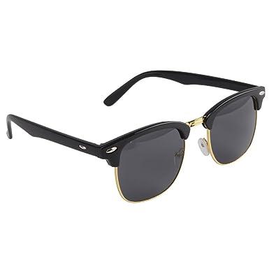 Xpork Gafas de sol redondas retro clásicas de los años 80 ...