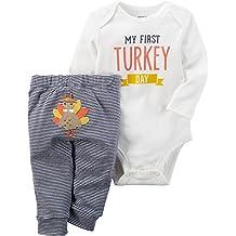 Carter's Baby My First Turkey 2-Piece Bodysuit Pants Set