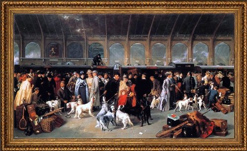 - Art Oyster George Earl Going North King\'s Cross Station - 14.05