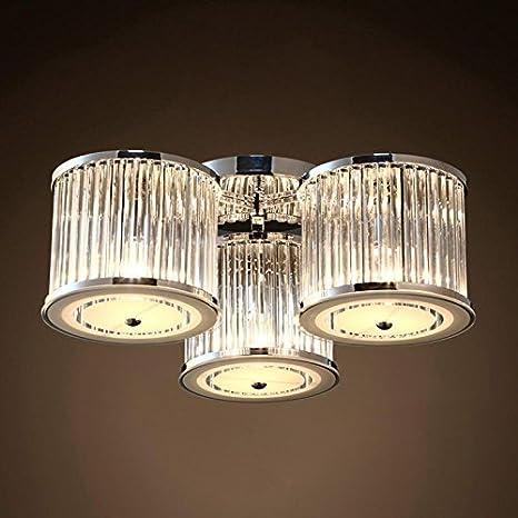 luz iluminación techo Leuchten colgante Leuchten Cristal ...