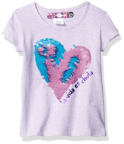 Desigual Girls' Toddler Ts_chivite T-Shirt_Lavender, 9/10