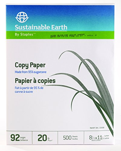 Staples Sustainable Earth Sugarcane Based Multipurpose Co...