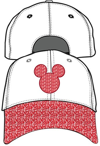 Disney Adult Hat Mickey Mouse Shimmer -