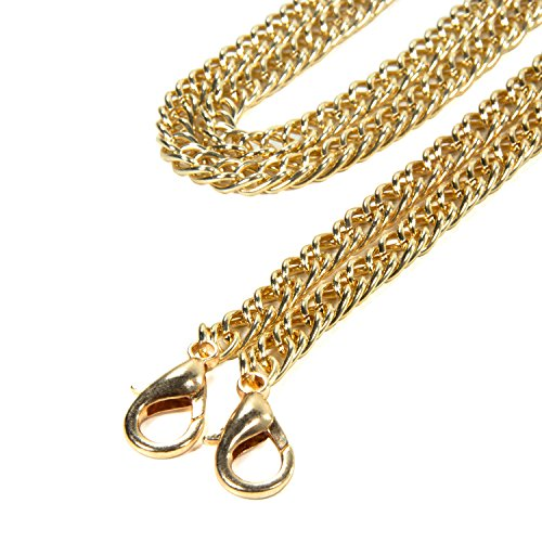 46in Purse Long Kroo Mini Chain Cross Replacement Handbags Strap Yellow Gold Shoulder Body AdZZRnyWf