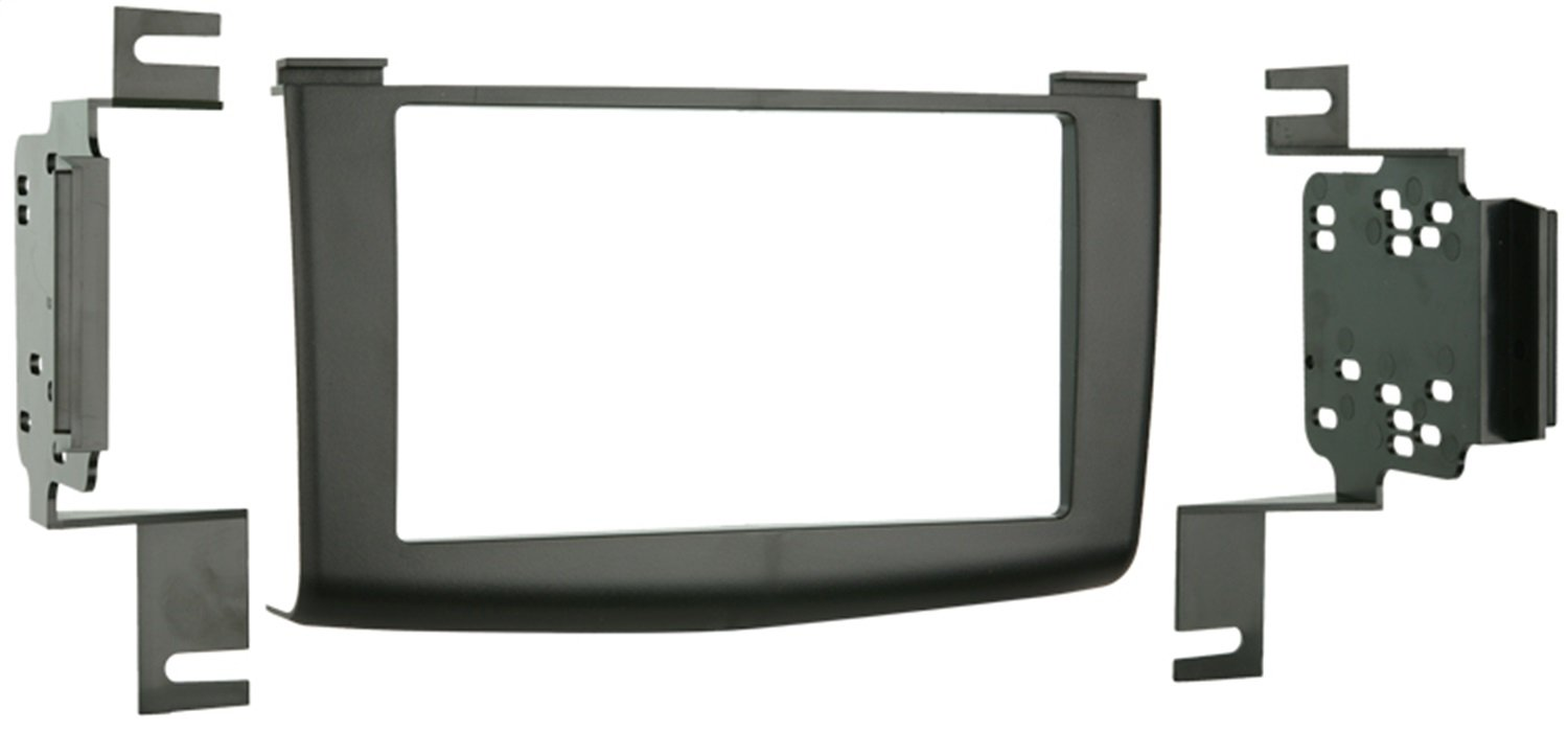 Metra 95-7425 Double DIN Installation Kit for 2008-Up Nissan Rogue Vehicles (Black) Metra Electronics Corporation