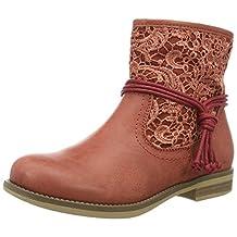 Rieker Women Ankle Boots red, (litschi/litschi) 96668-33