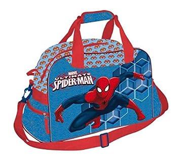 Spiderman Bolsa de Deporte 28x53x19 cms, Niños, Rojo, 0 ...