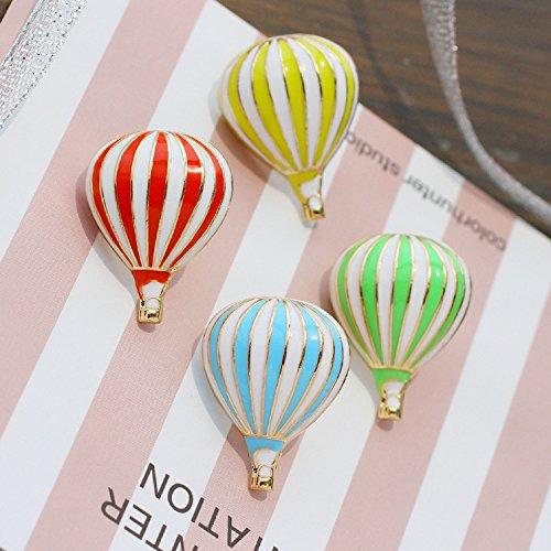 Air dreamer ~ innocence cute candy-color three-dimensional hot air balloon collar brooch pin collar female 10