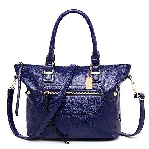 à Sac PU Sac à à Bandoulière Womens BAILIANG Main Blue Mode Sac Main fxn5q8wI