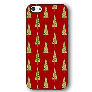 Christmas Design Pattern with Holly Wrapping Paper For Iphone 5/5s Cover Slim Phone Case
