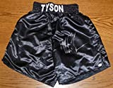 Mike Tyson Signed Custom Boxing Fight Trunks