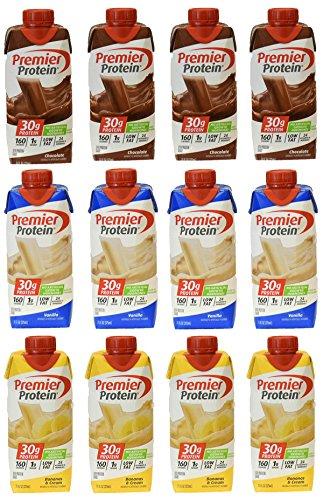 Premier Protein 30g Protein Shakes,   Contains 4 Chocolat...