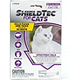 ShieldTec Flea and Tick Prevention for Cats,1,3,6 Months Protection (1 Dose, Over 1.5 lbs)