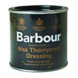 Barbour Wax Dressing Tin, Thronproof, Waterproof for Clothing/Jackets 200ml