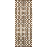 RUGGABLE Washable Stain Resistant Pet Dog Runner Rug for Indoor/Outdoor – Fretwork Tan 2.5′ x 7′ Runner Rug Set Review