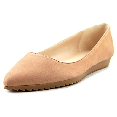 Nine West Women's Otherhalf Natural Nubuck Flat ...