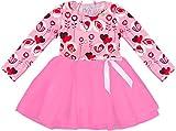 Angeline Boutique Clothing Girls Happy Valentine's Love Birds Tutu Dress 2T/XS