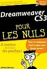 Dreamweaver CS3 pour les Nuls par Warner