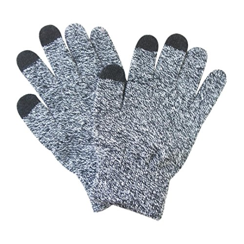 Besde Fashion Men Male Boy Men Thermal Winter Sports ouch Screen Warm Gloves Gift (Gray)