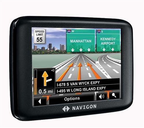 Navigon 2000S 3.5-Inch Portable GPS Navigator