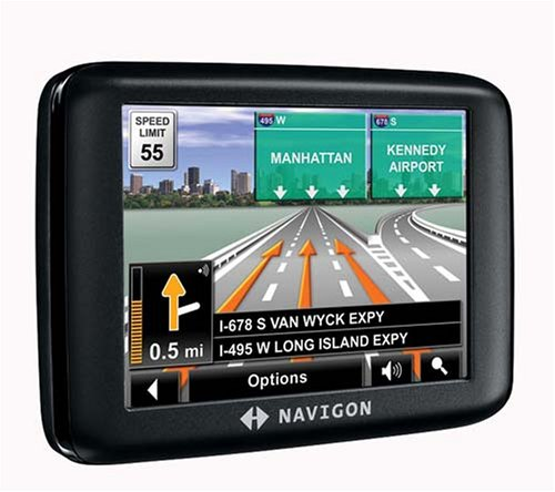 amazon com navigon 2000s 3 5 inch portable gps navigator cell rh amazon com Navigon 2100 User Manual Navigon 2100 Back View