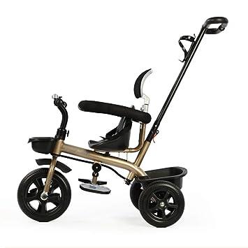 Triciclos niños con asa Desmontable para niños, 3 Ruedas Trike Boy Girl, 1-6 años de Edad, Carro de bebé, Bicicleta para niños: Amazon.es: Hogar