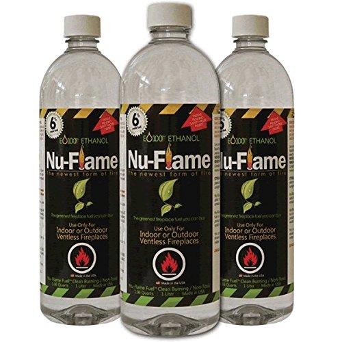 Nu-Flame Liquid Ethanol Fuel
