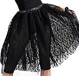 AMSCAN 80's Pop Hallowwen Skirt for Women, One Size