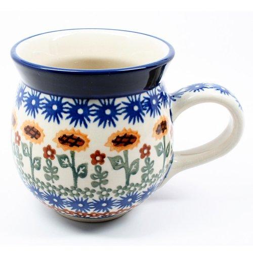 Polish Pottery Gentlemens Bubble Mug #1207
