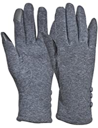Womens Touchscreen Texting Gloves Warm Lined Thick Winter Gloves